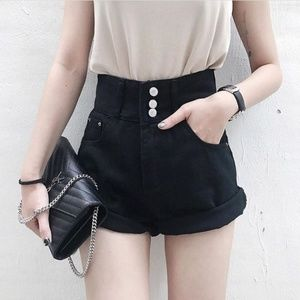 Pants - Black High Waisted Shorts